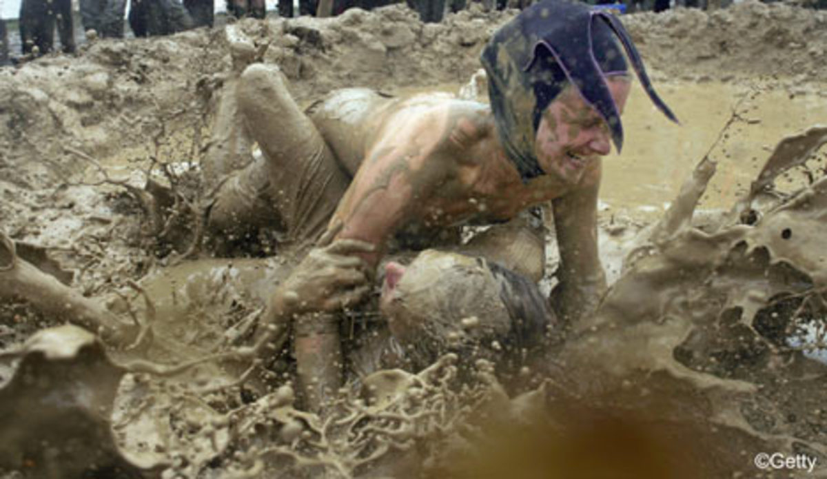 Couples and Mud Wrestling
