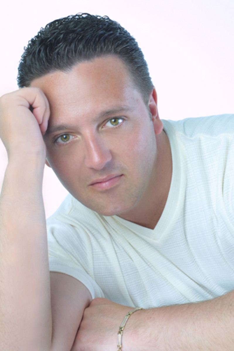 Psychic medium John Edward communicates with the dead and reconnects them with their loved ones