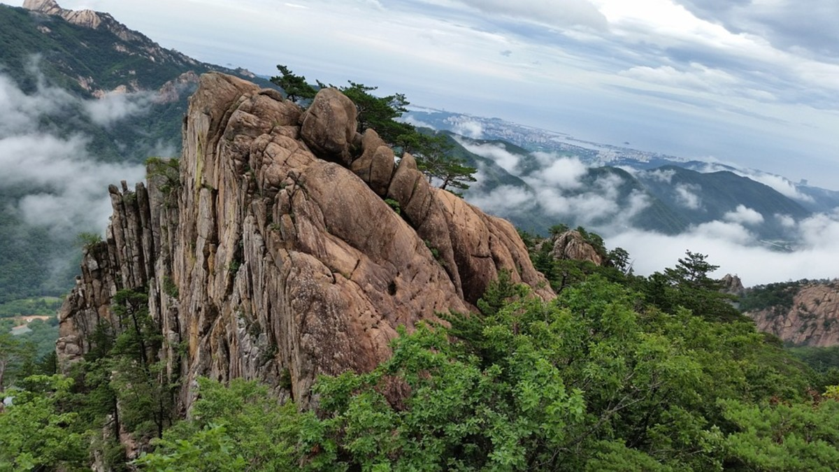 Mount Seoraskan, South Korea
