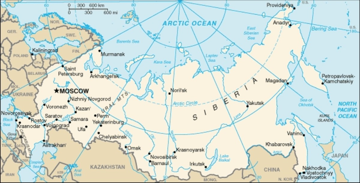 Russia in the 21st Century. is one of the largest countries in the world.