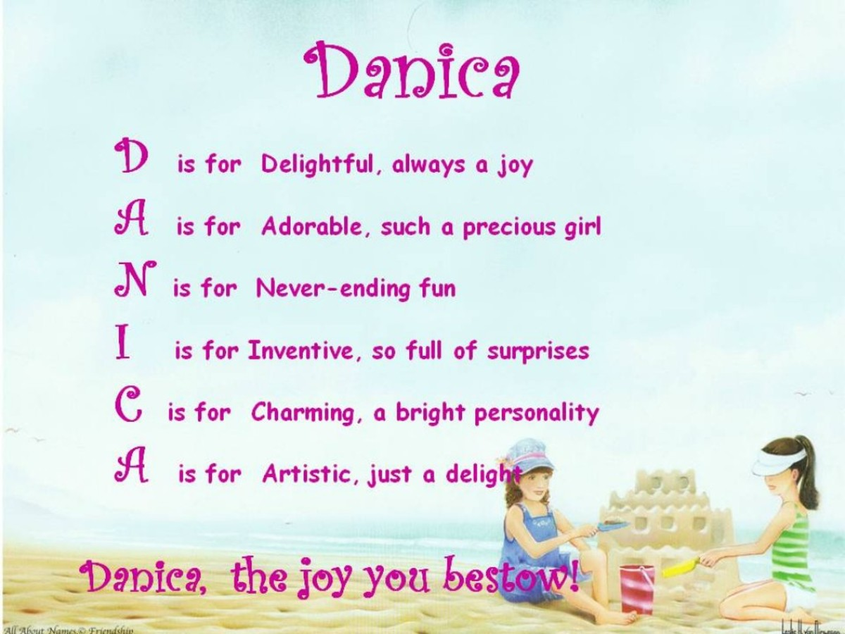Acrostic Name Poems For Girls | hubpages