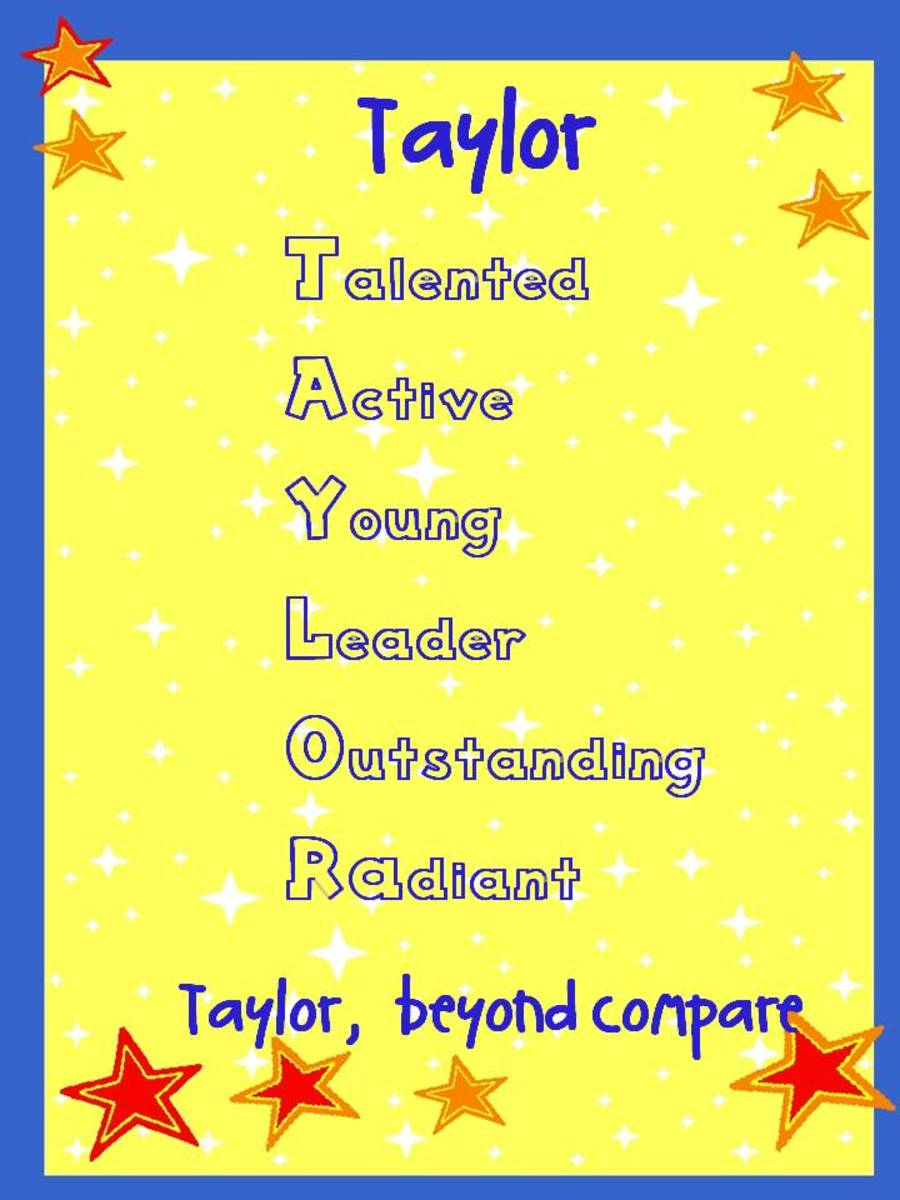 Free: ~ ☆* Name Acrostic Poem *☆ ~ PICK A DESIGN, COLOR ...   Acrostic Poems With The Name Terri