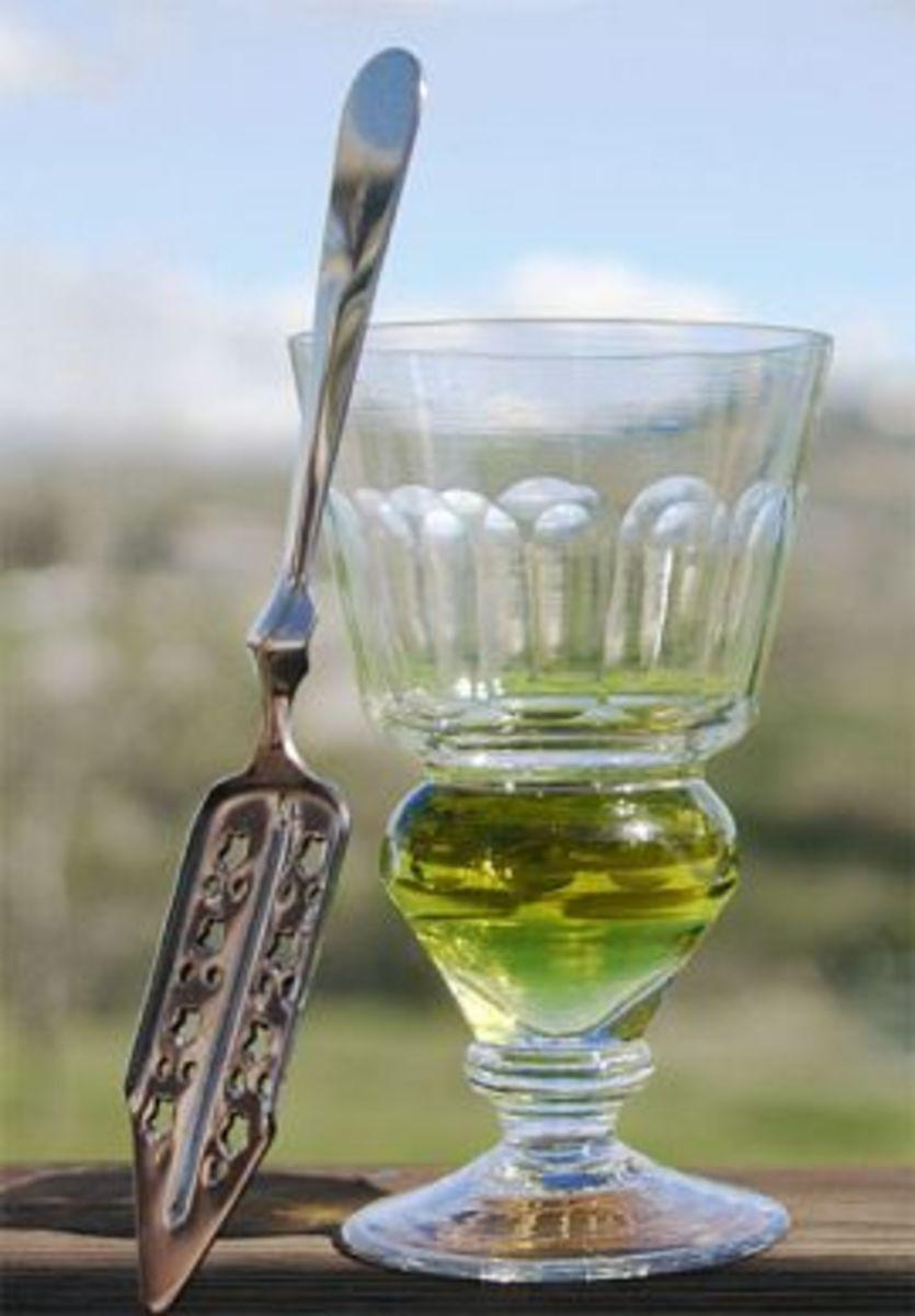 Mmm, delicious forbidden absinthe.