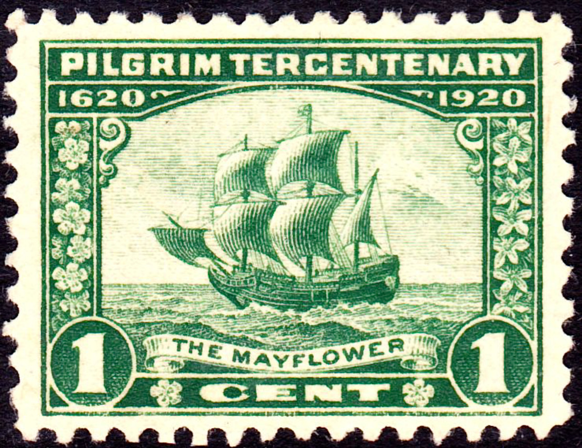 The arrival of the Mayflower began the journey that ended in the Original 13 English Colonies. From there, a New Nation emerged from among immigrant to North America.