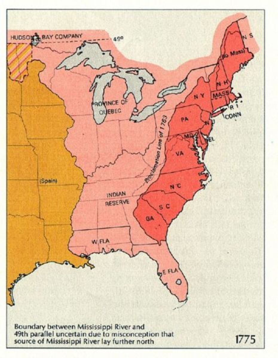 The Colonies That Rebelled Against England