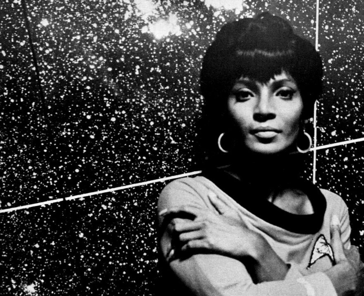 Nichelle Nichols Star Trek 1967. Number One In The Galaxy.