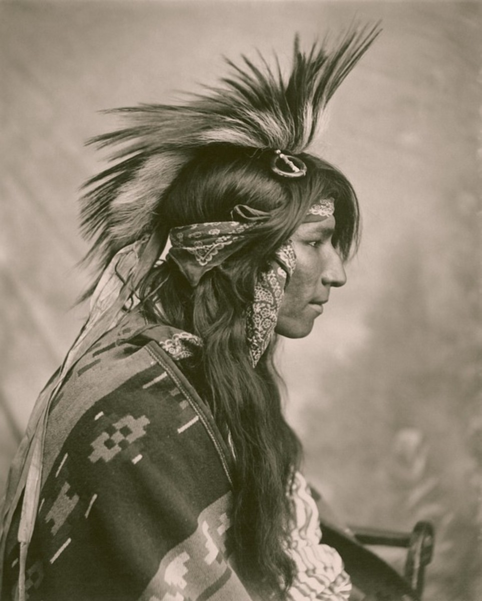 A Cree in Saskatchewan.
