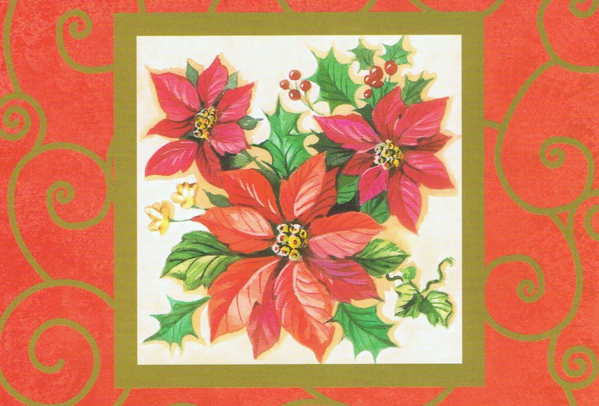 December 12th was set aside as National Poinsettia Day to mark the death of Joel Roberts Poinsett, who was credited with introducing the plant to the USA.