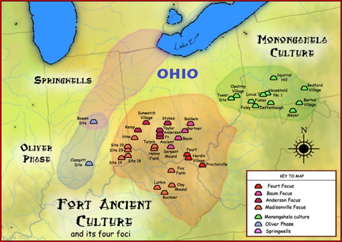 Natives in Ohio: Mound Builders and Others.