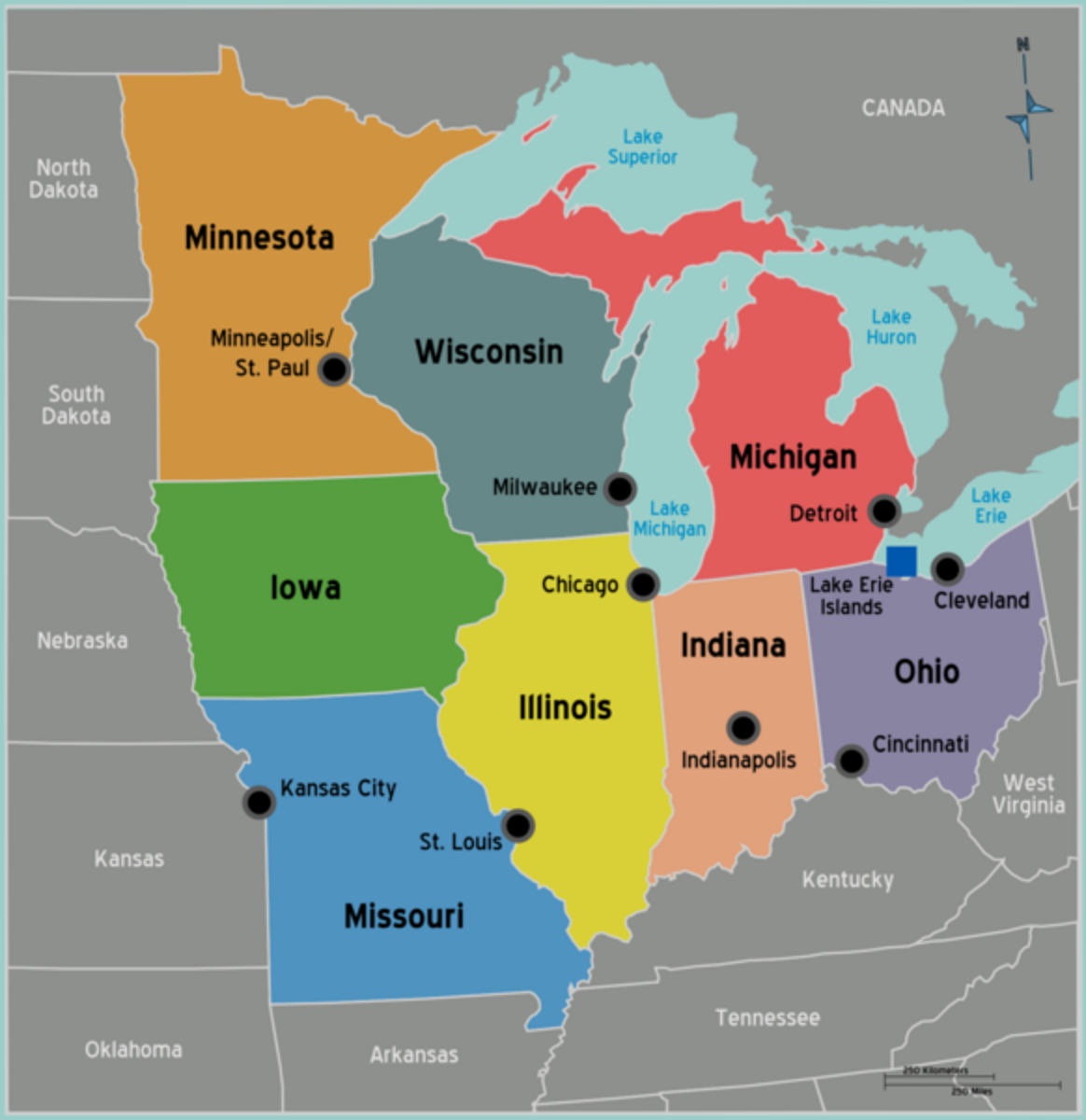 The American Midwest