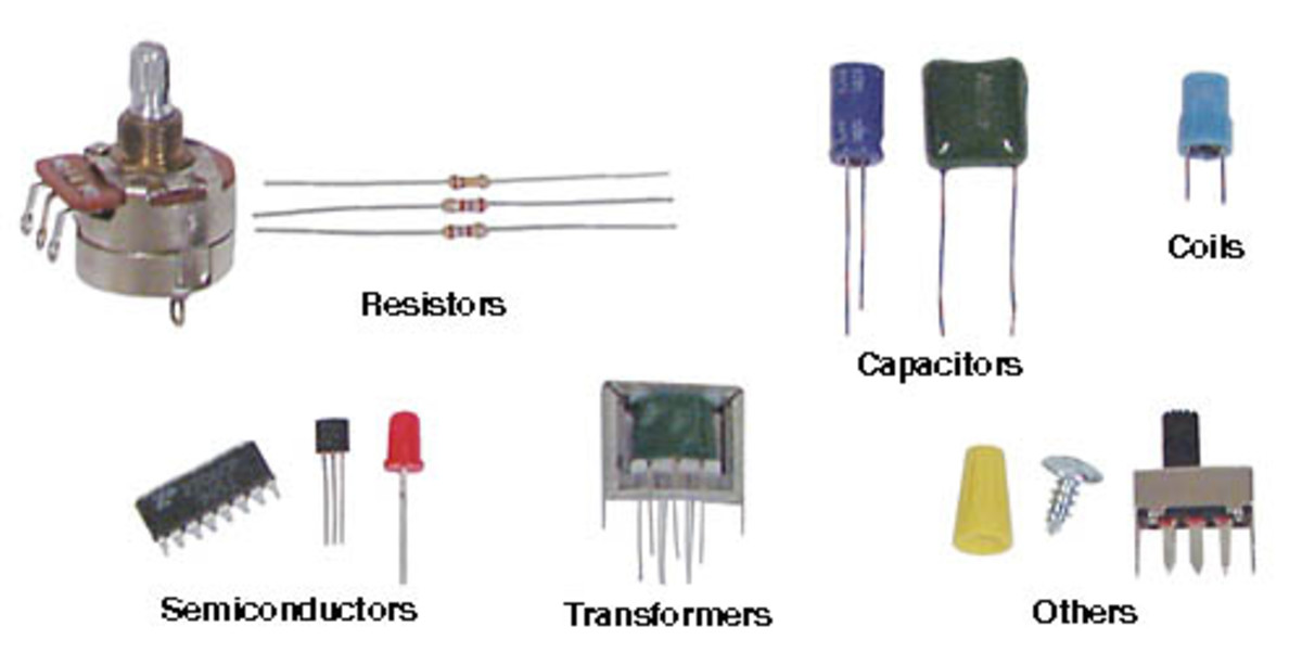 Electronic Component Parts : Active versus passive devices hubpages