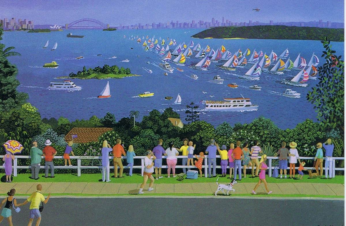 Boxing Day Races at the Sydney Harbour