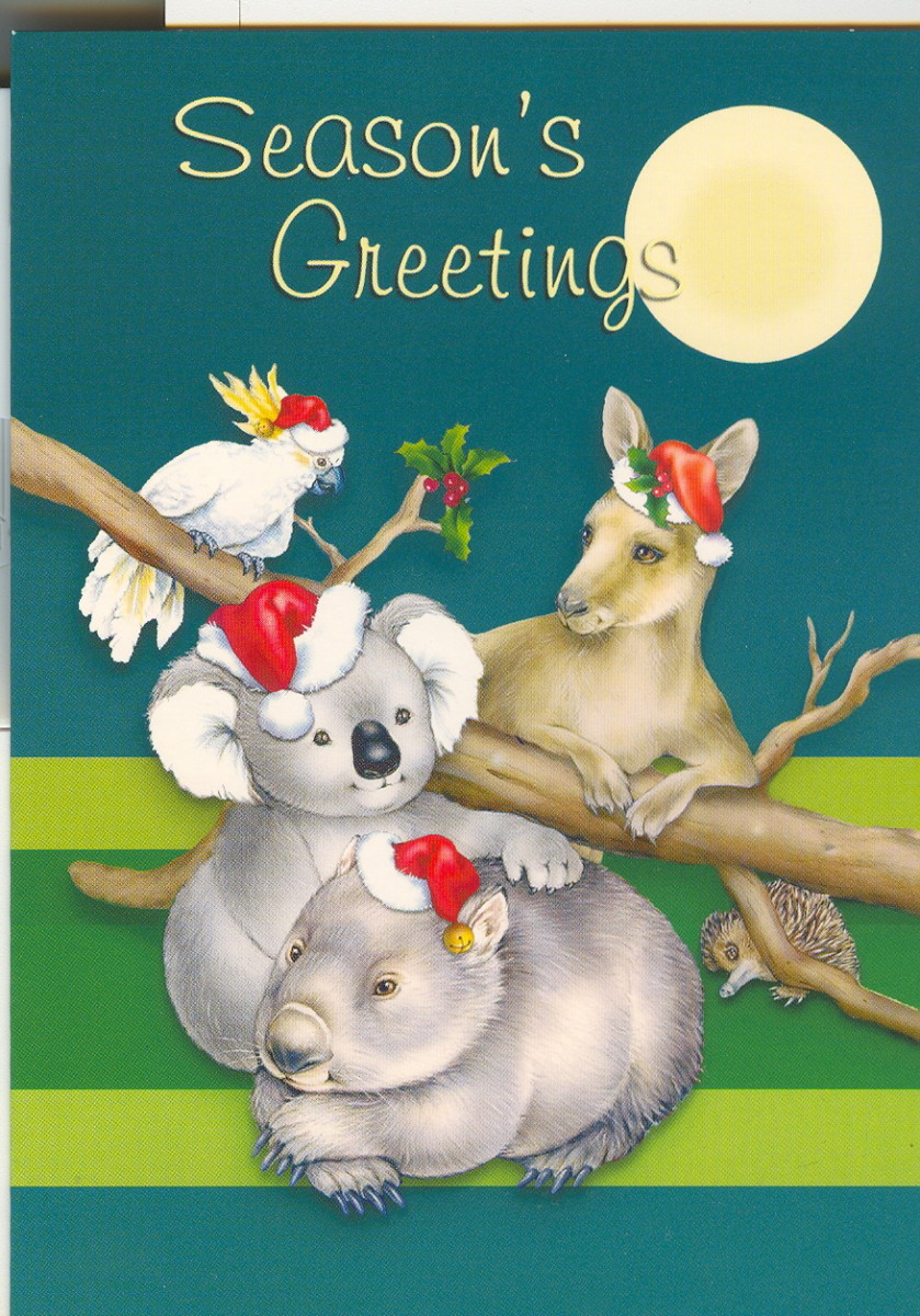 Christmas Cards From Australia
