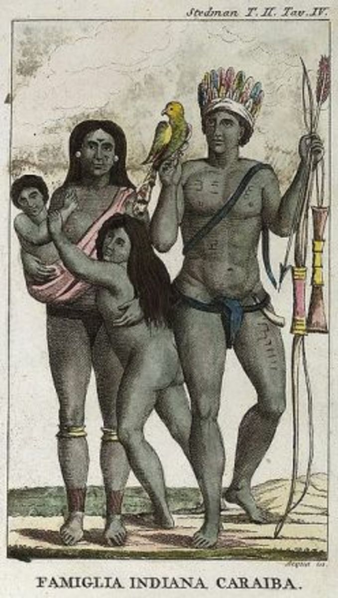 A Carrib Family.