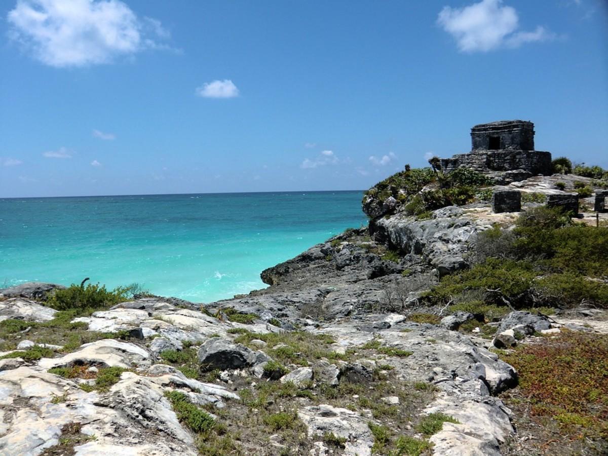 A Mayan Temple