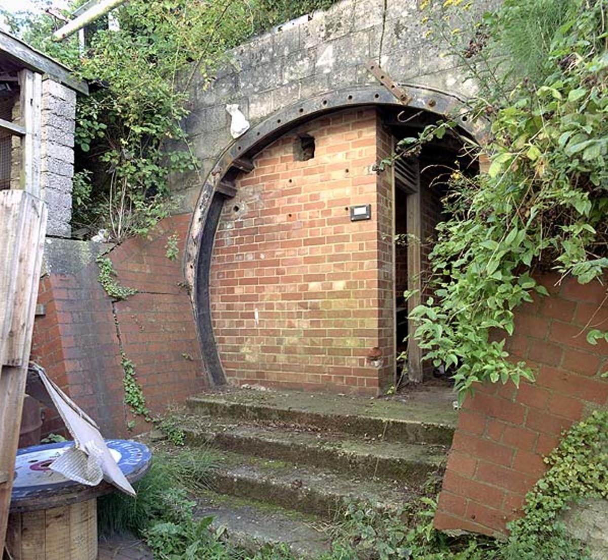 Doorway into an Underground City