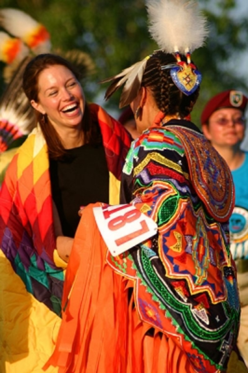 Meeting the Santee Sioux