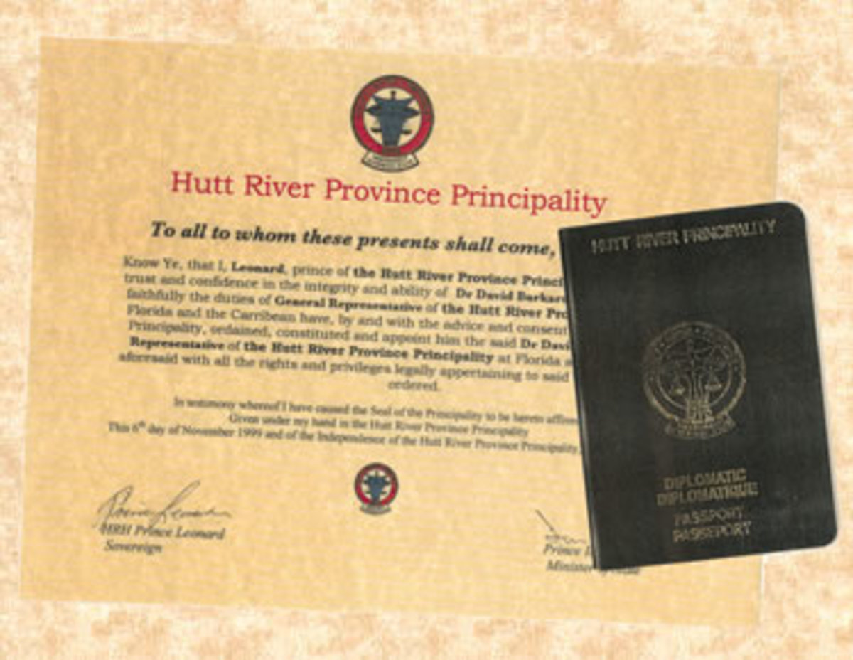 Hutt River Province Passport