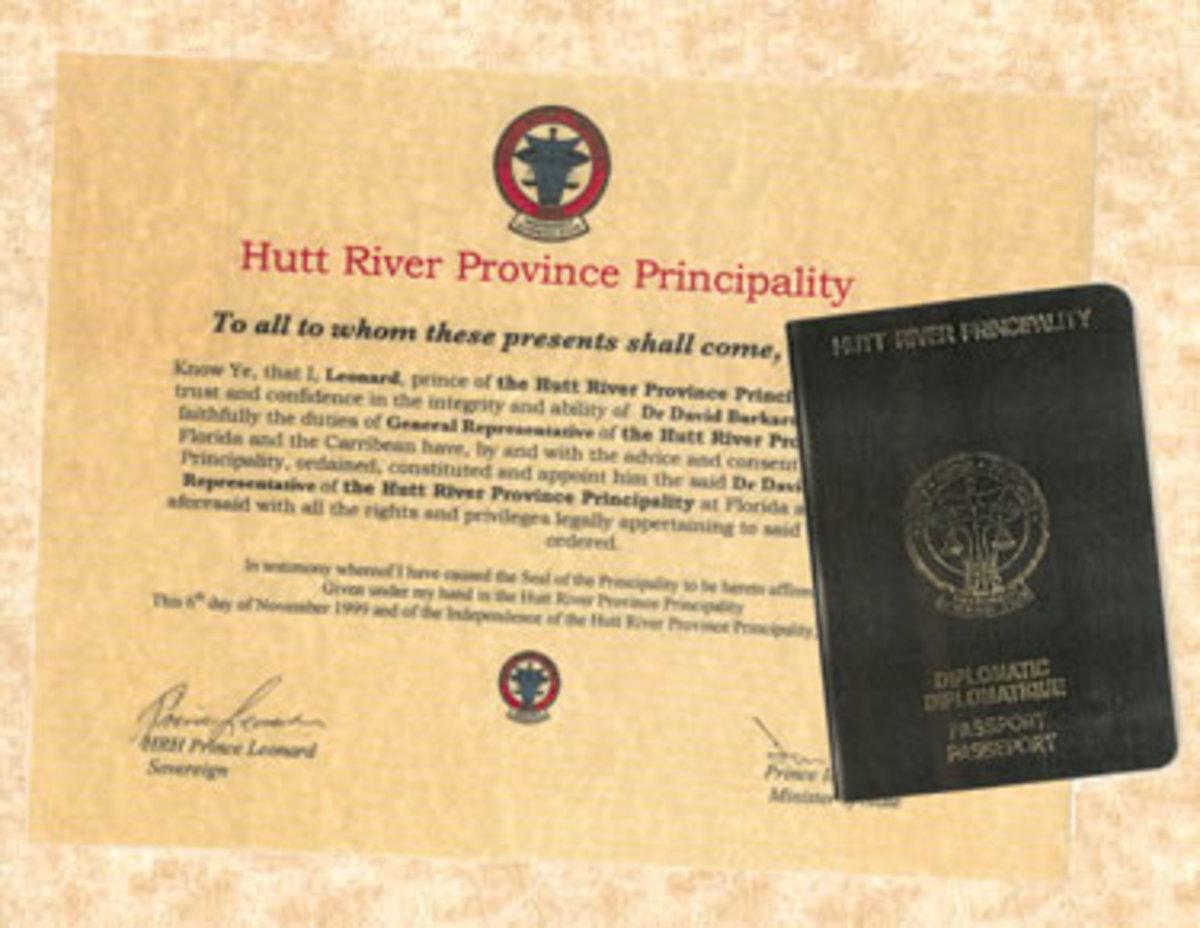 Hutt River Province Passport