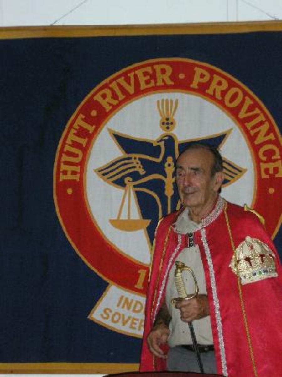 Prince Leonard of Hutt River Province