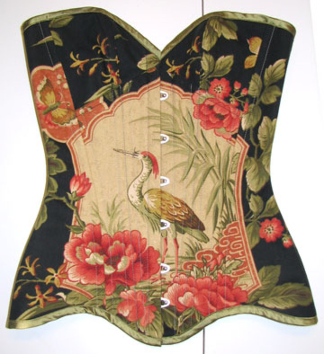 Model Shein Lee's Heron Corset