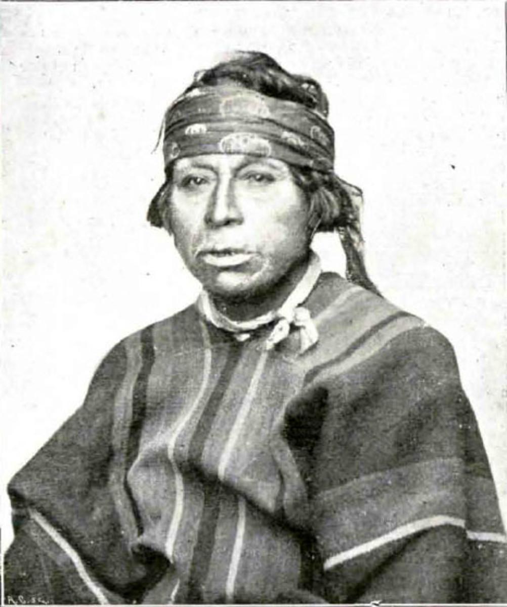 A Mapuche man.