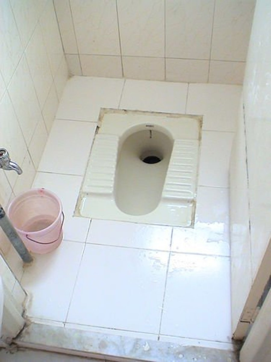 How To Use The Indian Squat Toilet