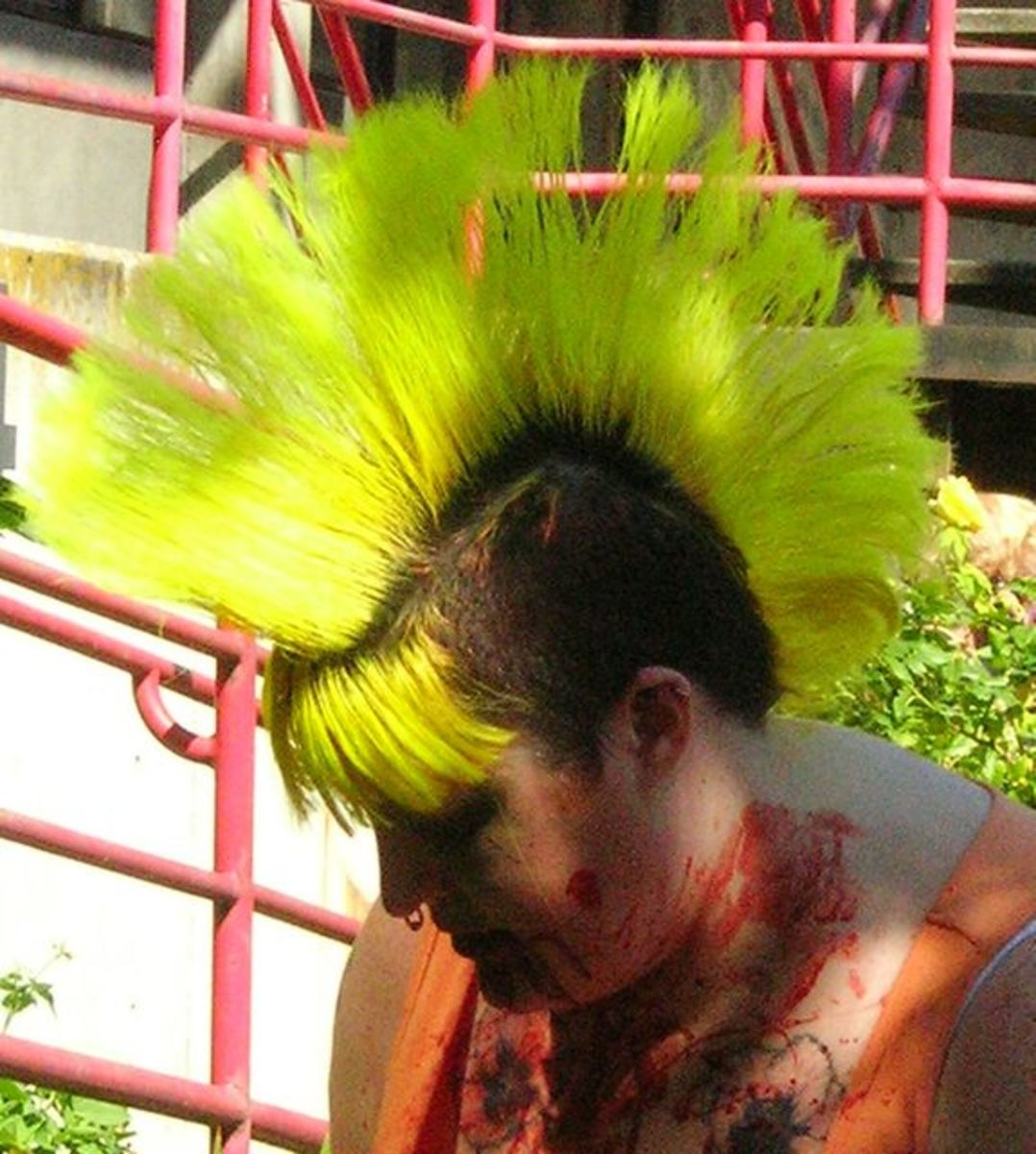 Mohawks and Liberty Spike Hair