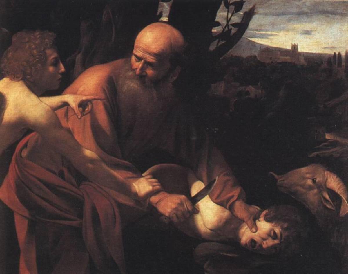 Caravaggio, The Sacrifice of Isaac, 1603