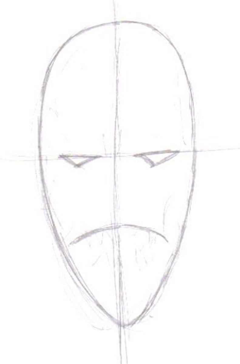 Drawing A Demon: How To Draw Demons