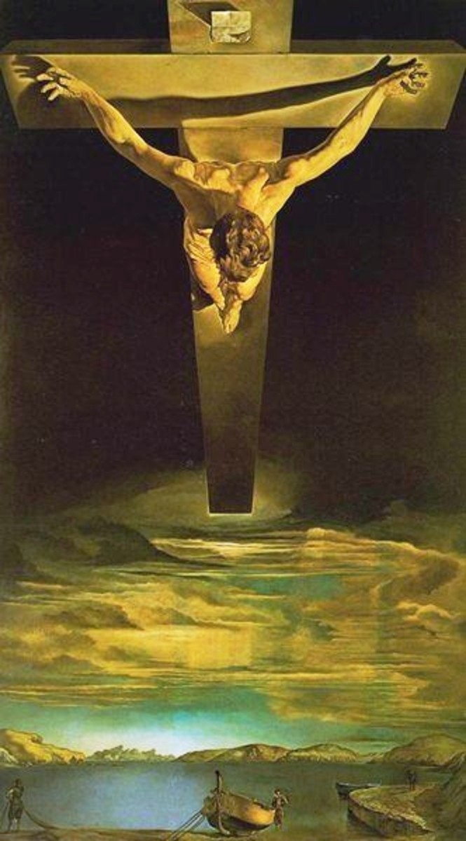 Salvador Dali's Christ of Saint John of the Cross - Analysis