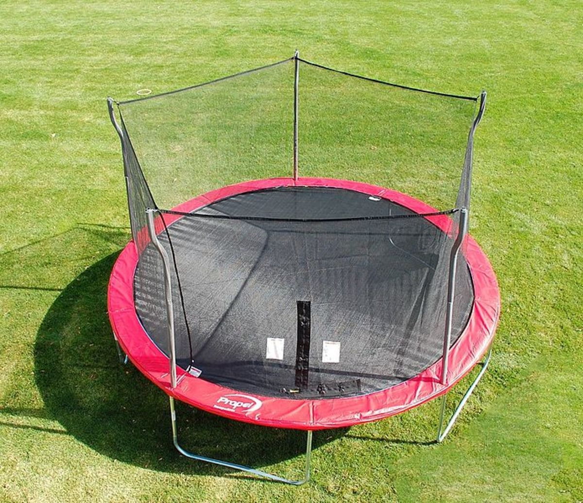 How To Secure A Trampoline