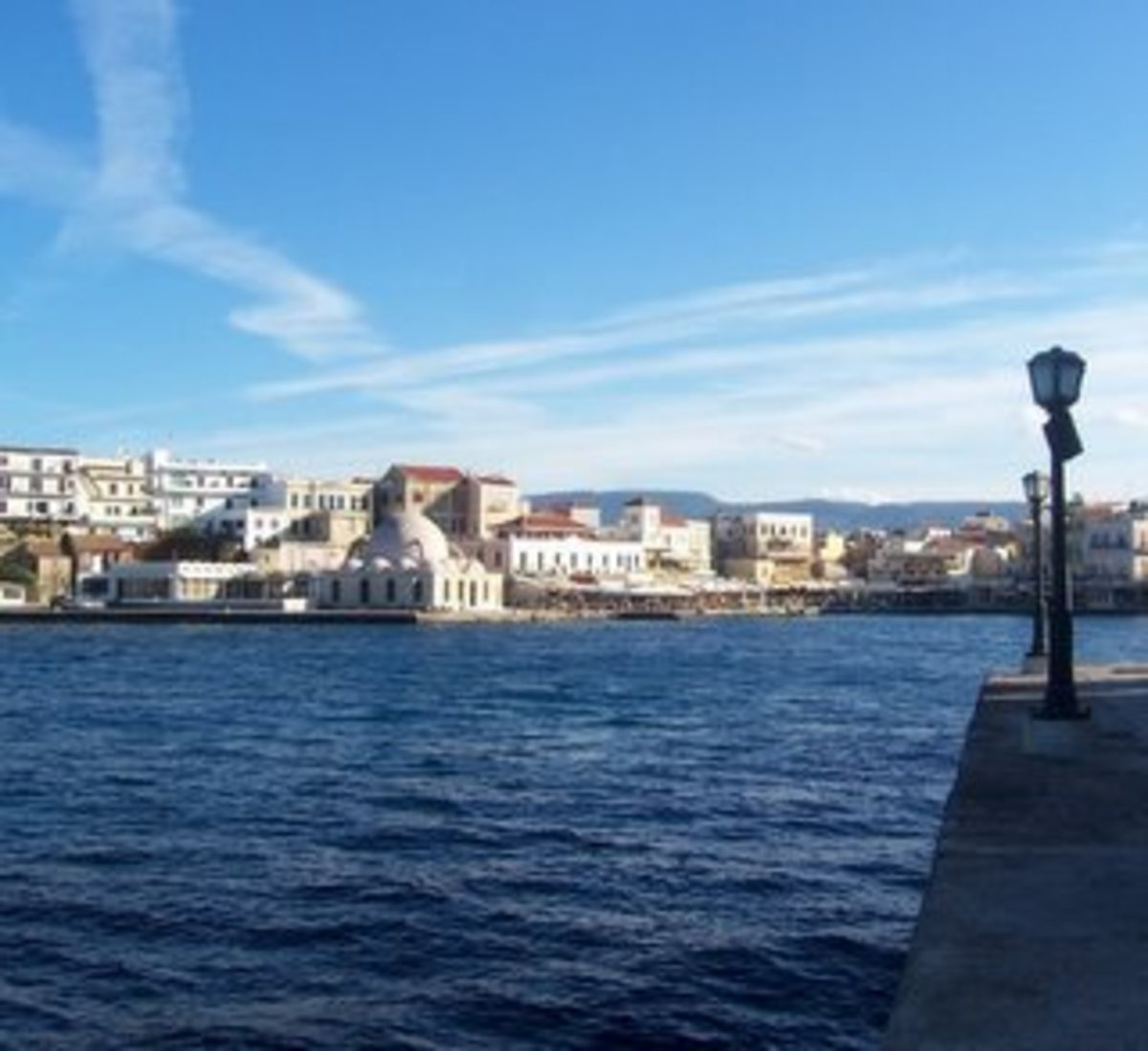 Chania Old Harbour, Crete, Greece