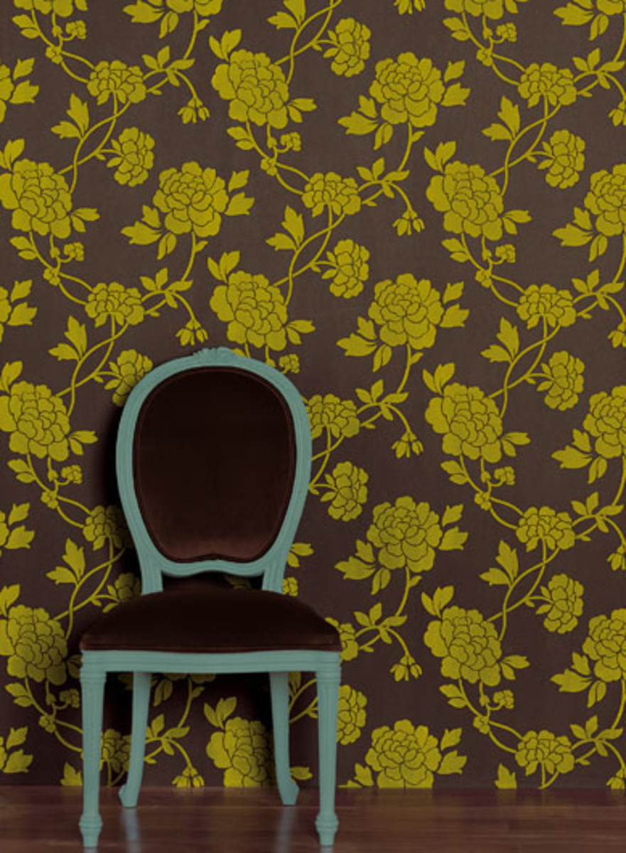 Creative Ideas And Crafts For Using Left-Over Wallpaper