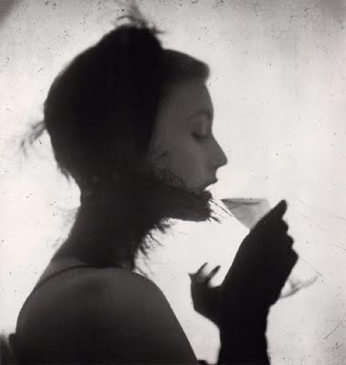 Girl Drinking, Irving Penn