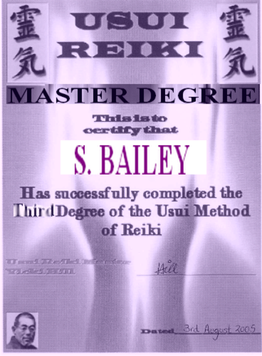 My Master Certificate