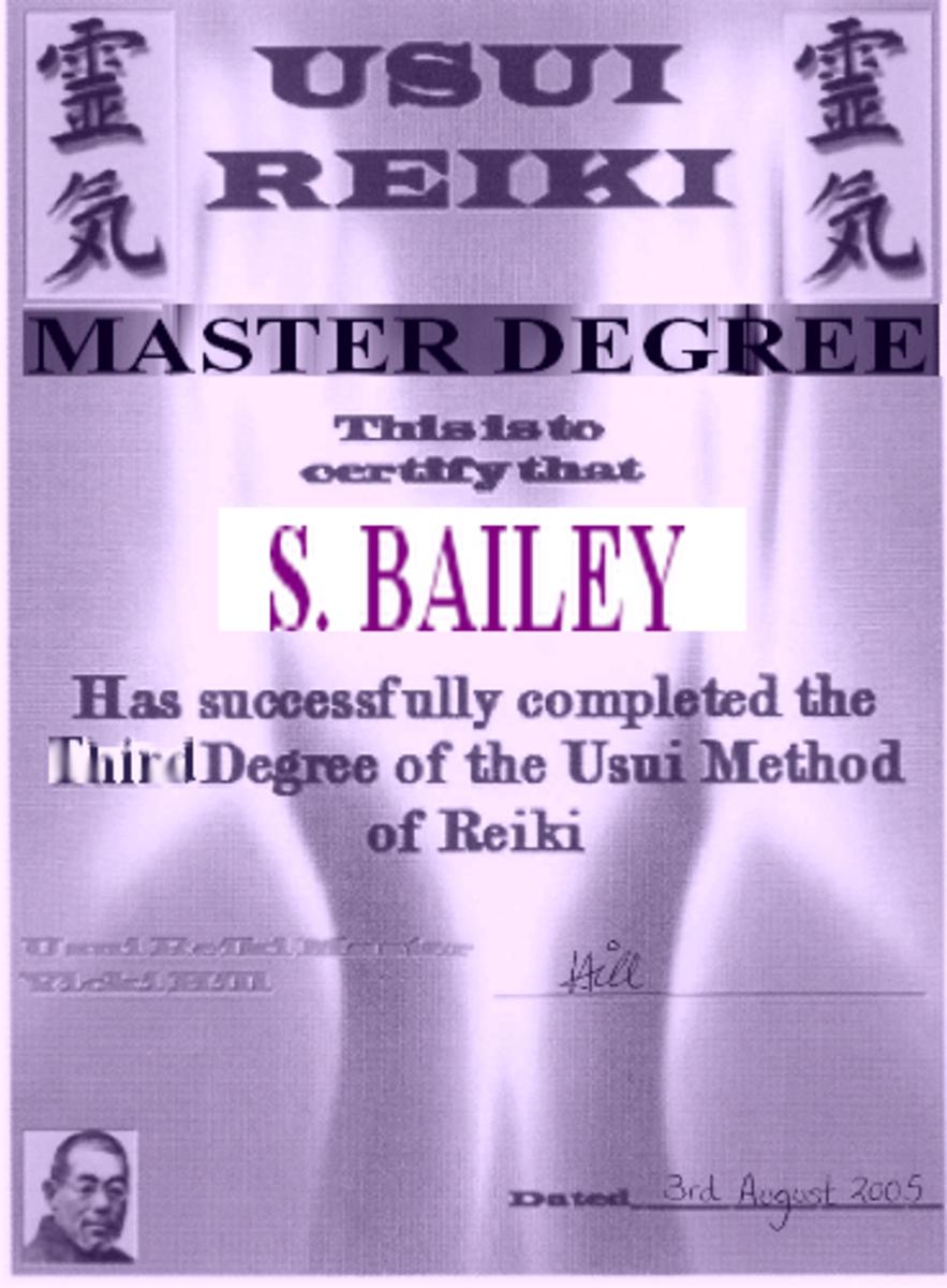 My Master Certificate