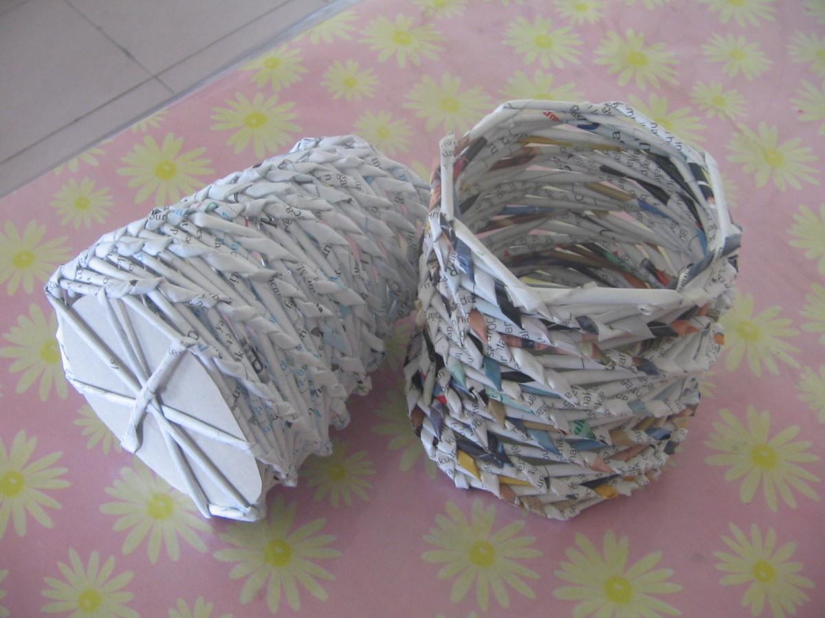 9.Other craft - Stationery holder