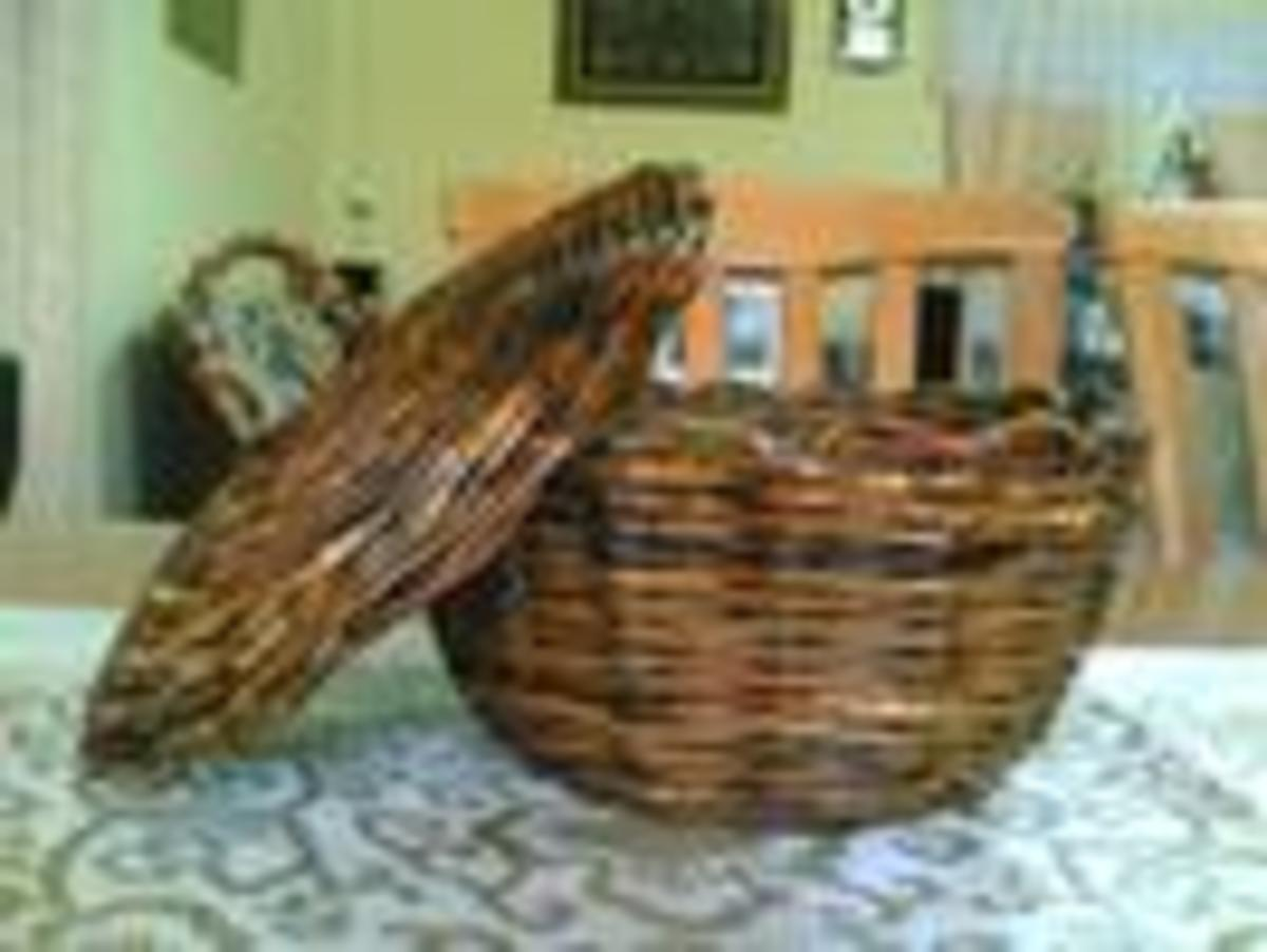 11.Other craft - Basket with cover