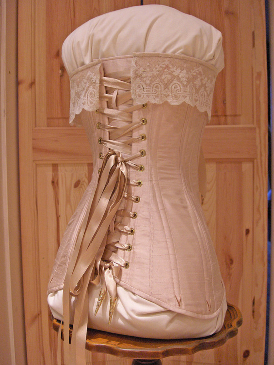 Edwardian bridal corset by Harman Hay