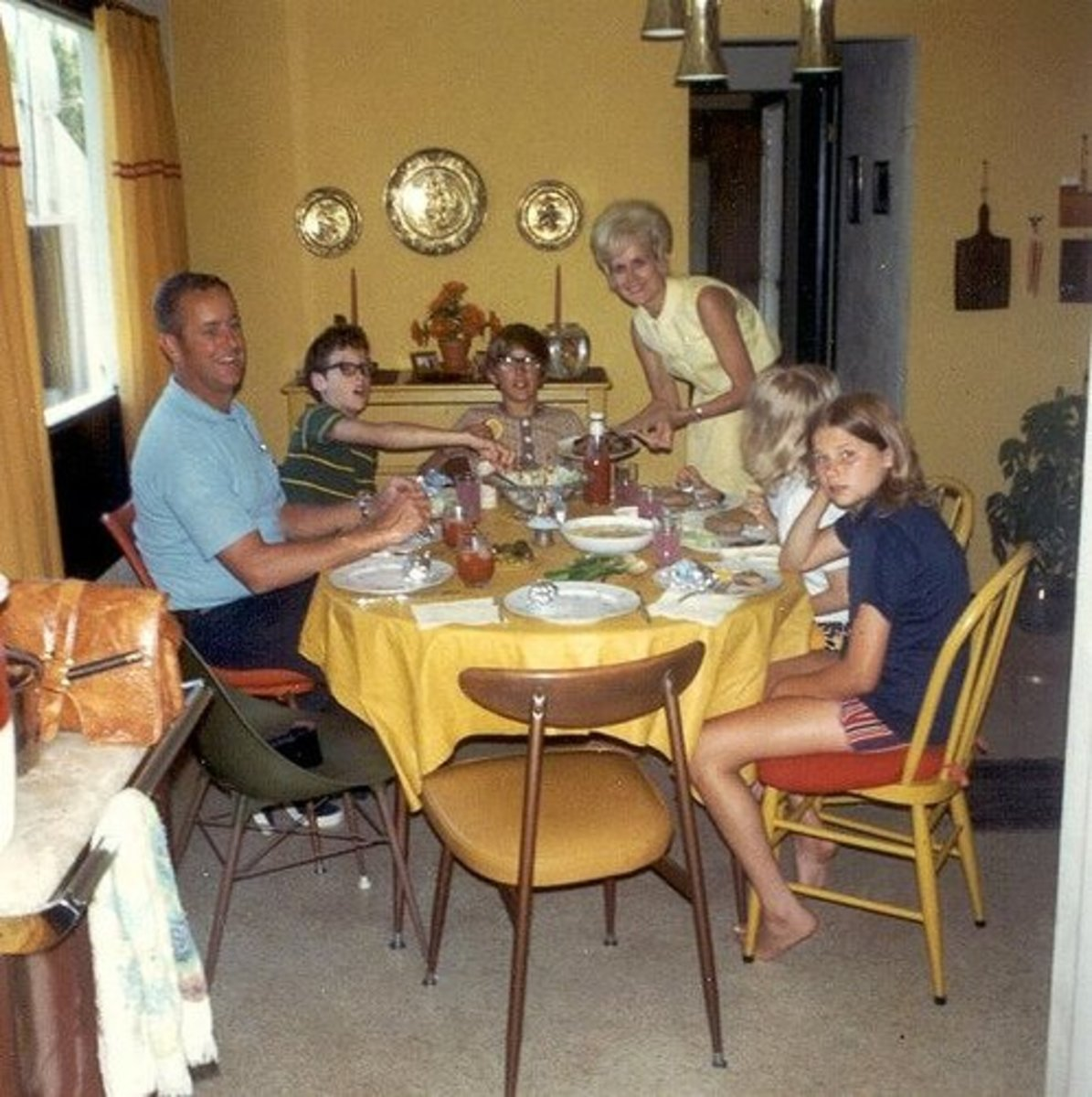 Family Meal Time Together