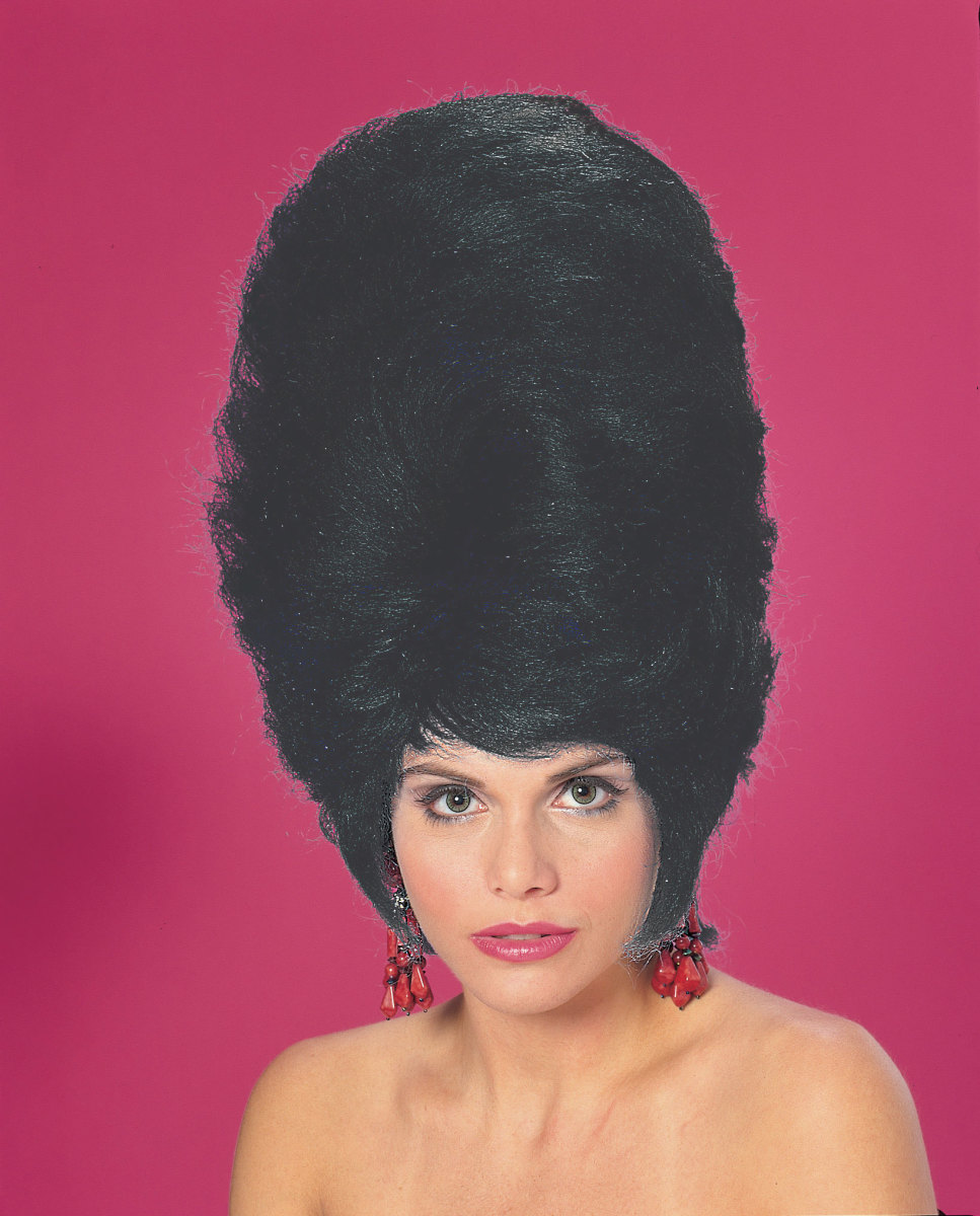 Wear a large beehive wig for High Barnet