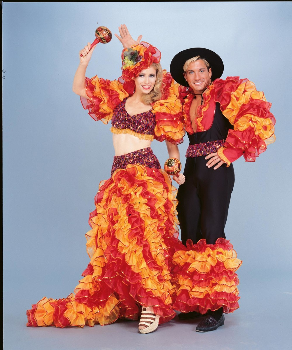 Carnival costumes for Nottinghill Gate