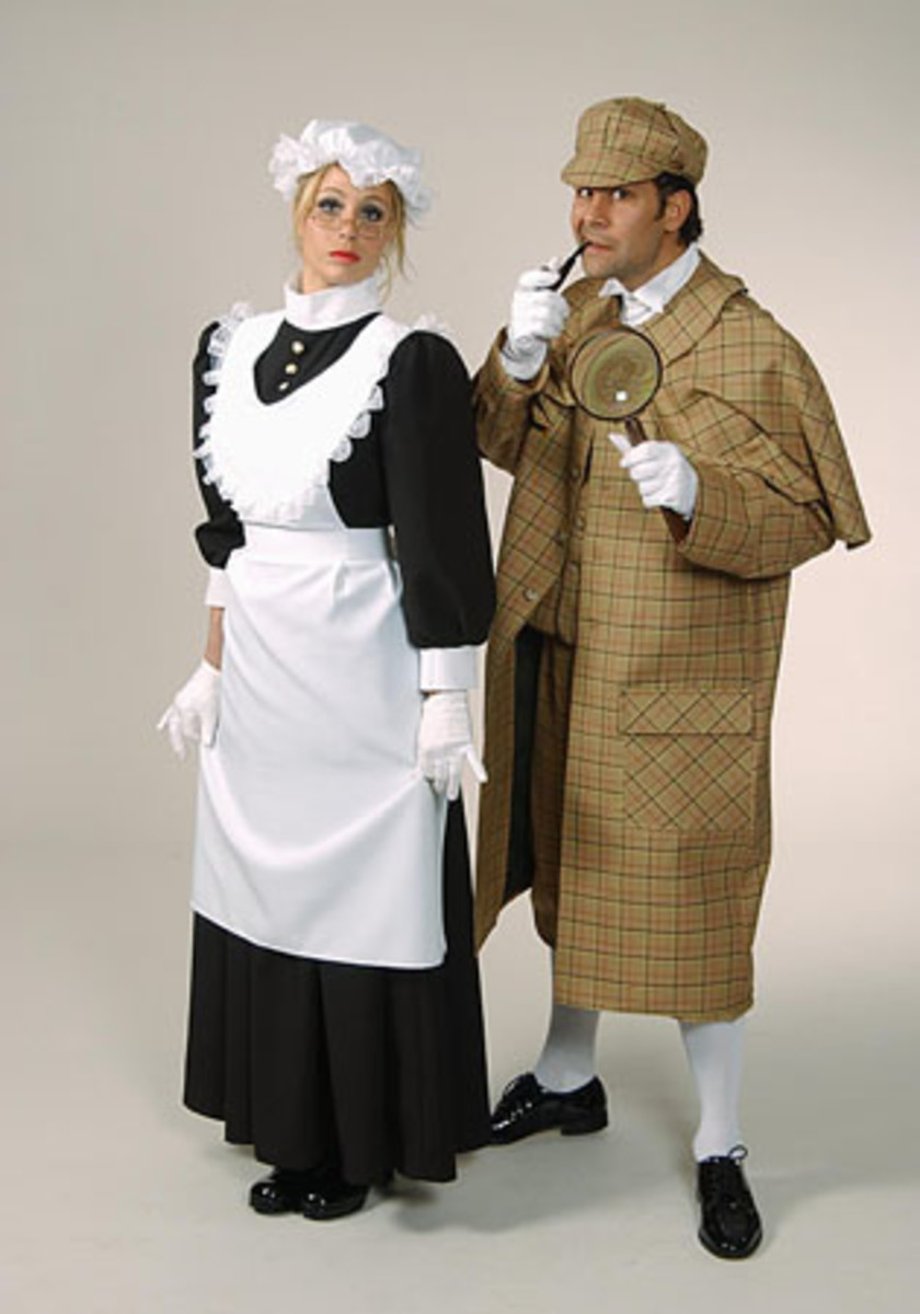Sherlock Holmes for Baker Street | Maid Costume just add a veil for Maida Vale or a cross for Charing Cross