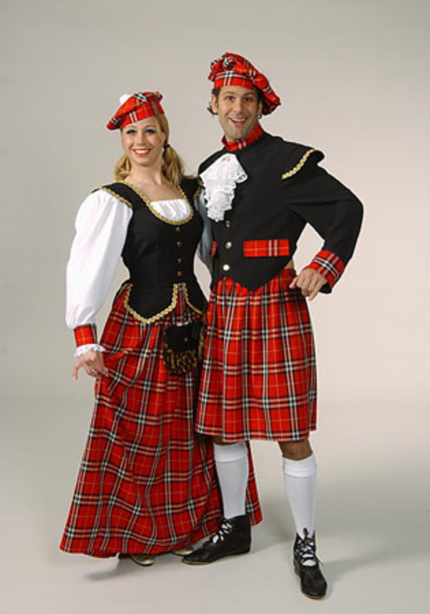 Scottish Costumes for Caledonian Road