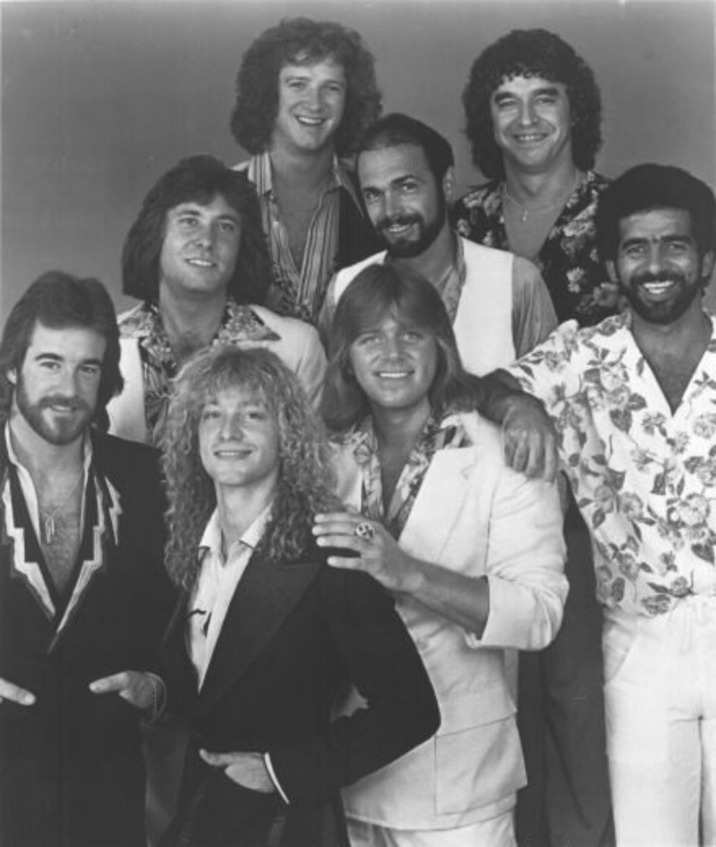 Chicago 1978  James Pankow; Robert Lamm;  Donnie Dacus; Lee Loughnane;  Peter Cetera; Danny Seraphine;  Walt Parazaider; Laudir DeOliveir