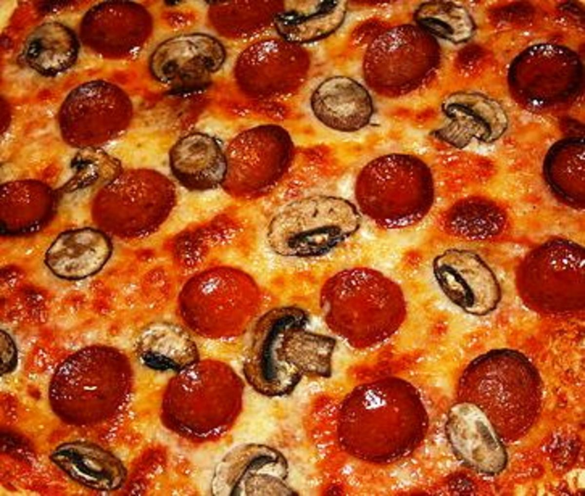 Pepperoni is a favorite pizza topper. With its spicy flavor, it is hard to beat.