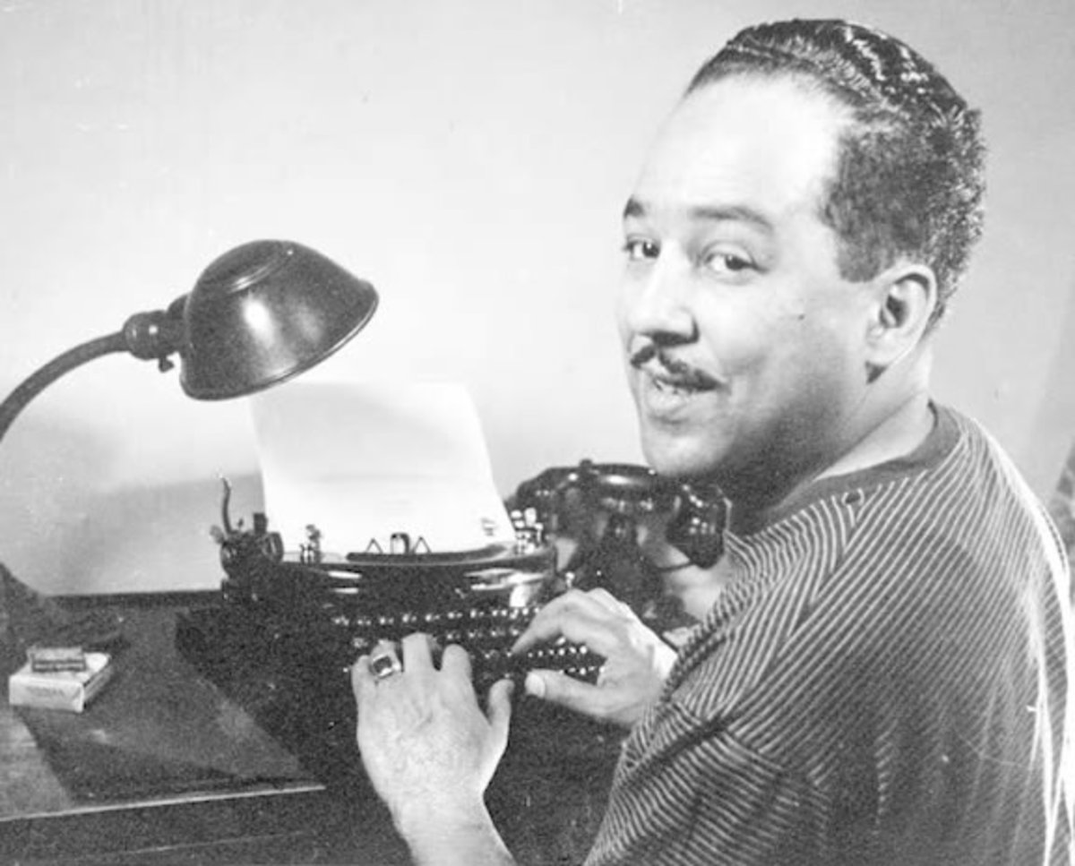 Langston Hughes, along with Sterling Brown, helped blues poetry emerge.