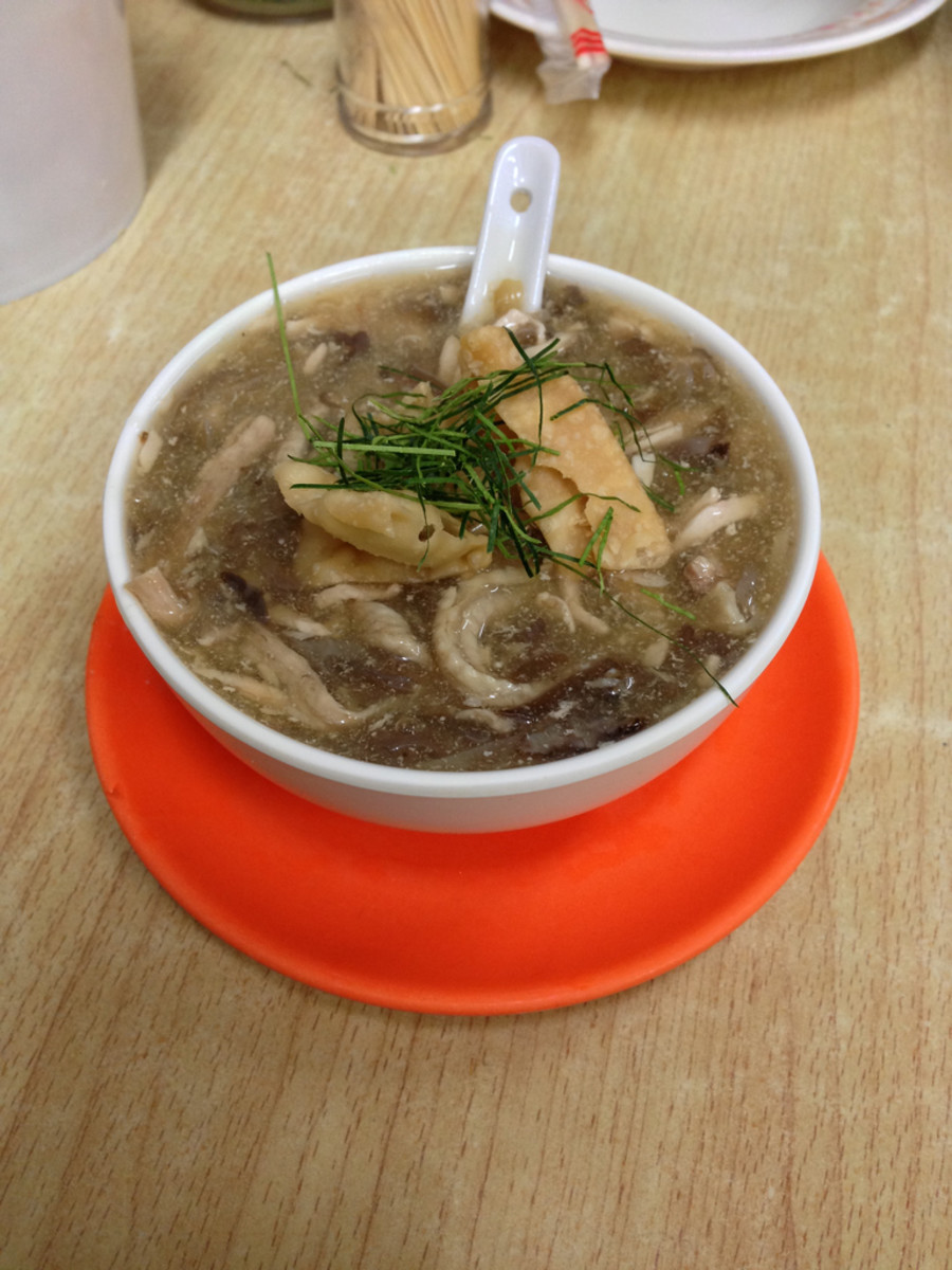 Snake soup is authentic Chinese food