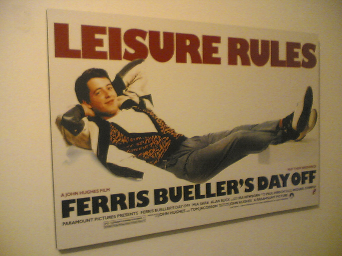 What teen doesn't want to be like Ferris Bueller and his friends?